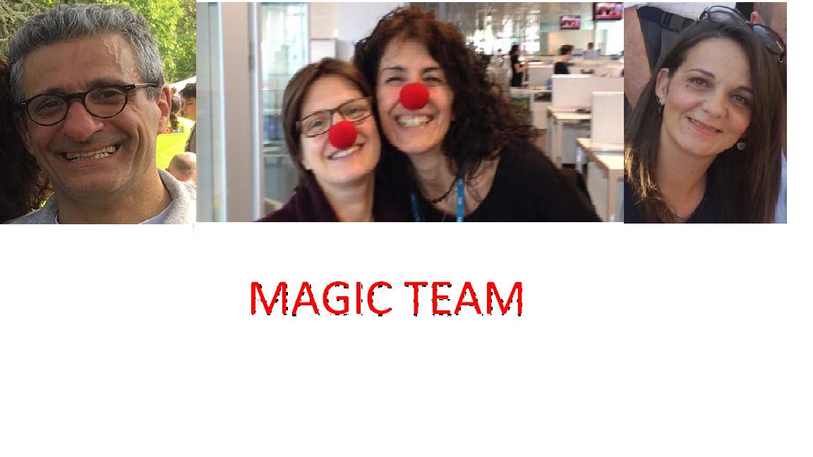 Magic Team-Emma, Barbara Monica, Giuseppe