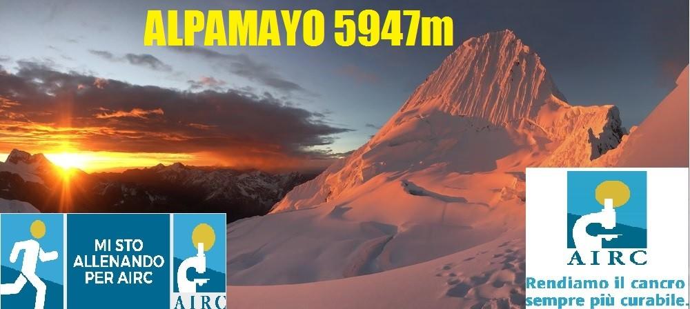 #ALPAMAYO2018, 5947m PER AIRC!!-Luca Masarati