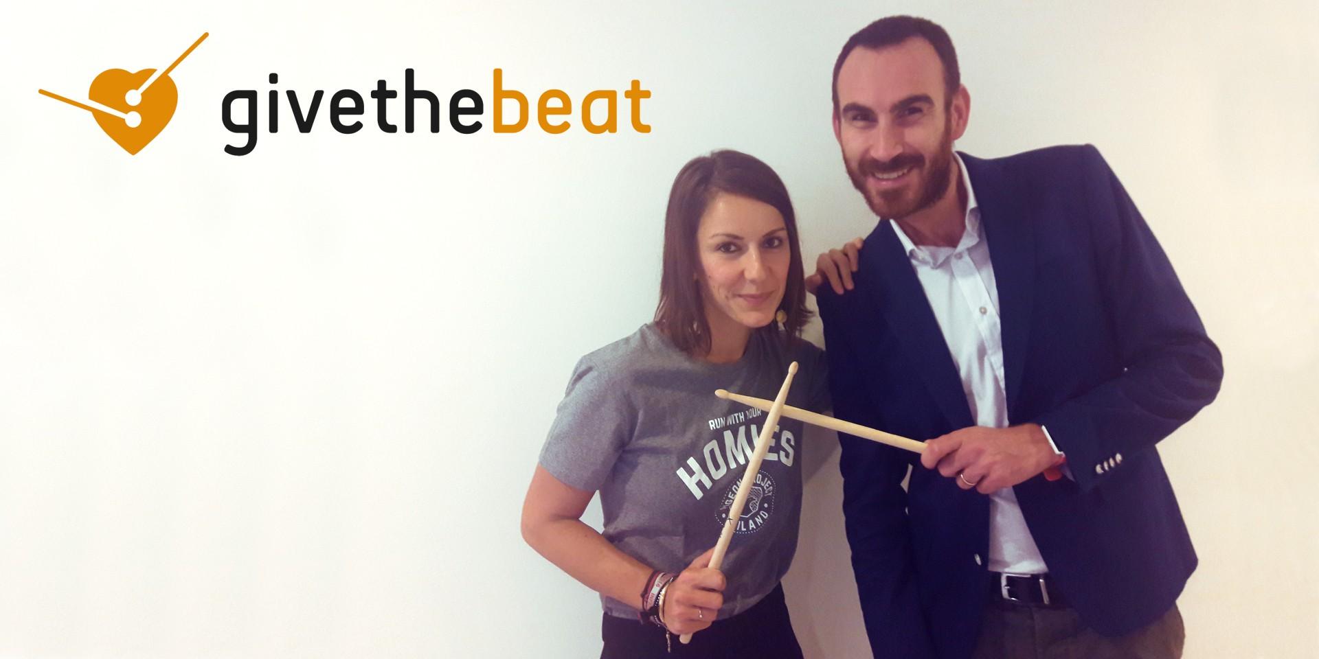 #GivetheBeat! #MrandMrsClaus-Giorgia Bottacchi