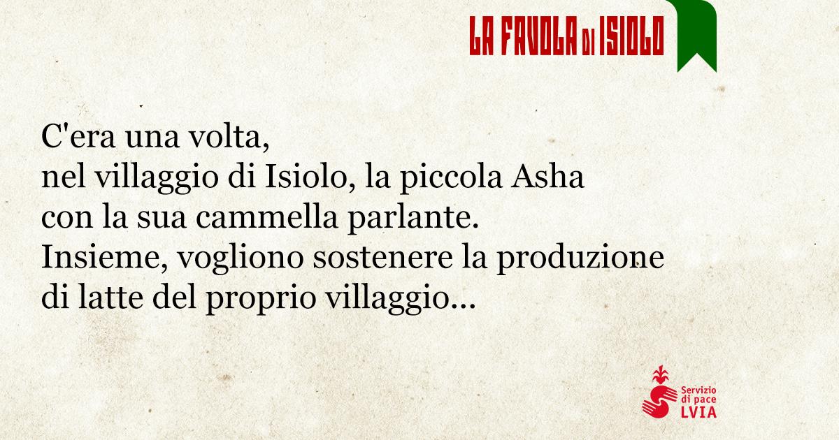 La favola di Isiolo-Associazione L.V.I.A.
