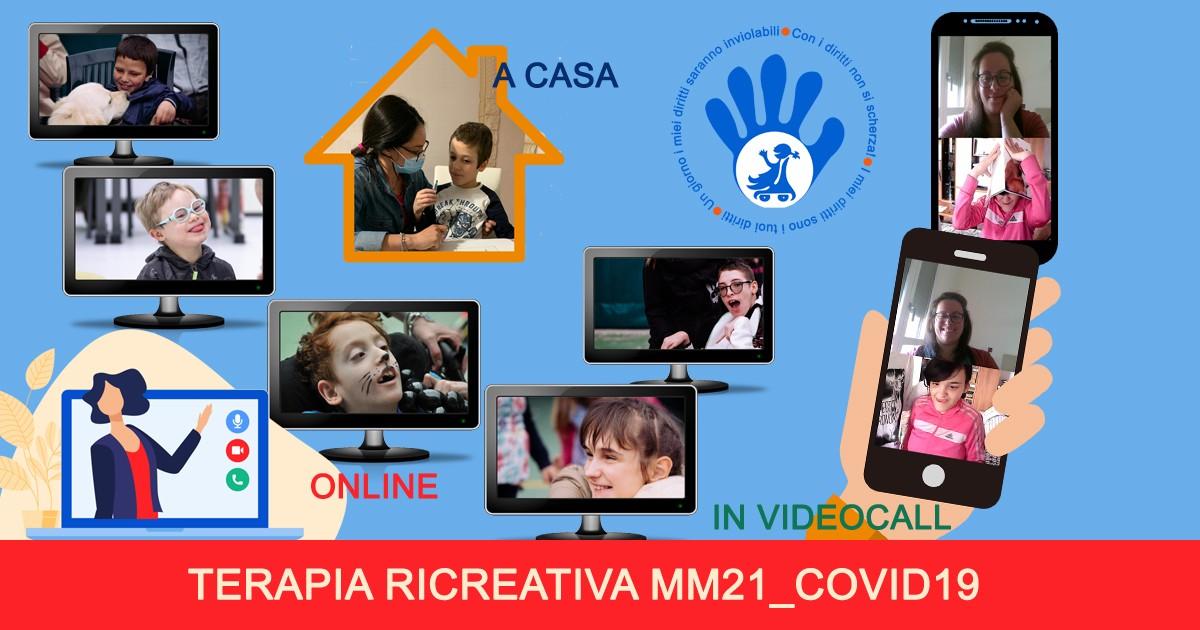 TERAPIA RICREATIVA MM21-Una mano per...