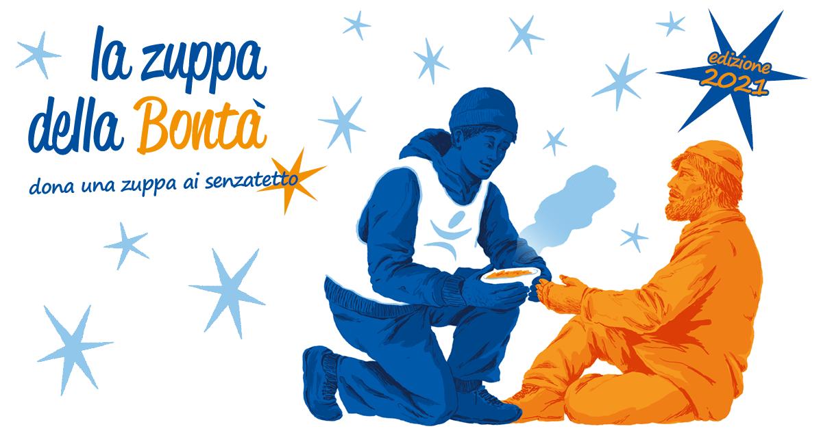 La Zuppa della Bontà: dona una zuppa!-Fondazione Progetto Arca onlus