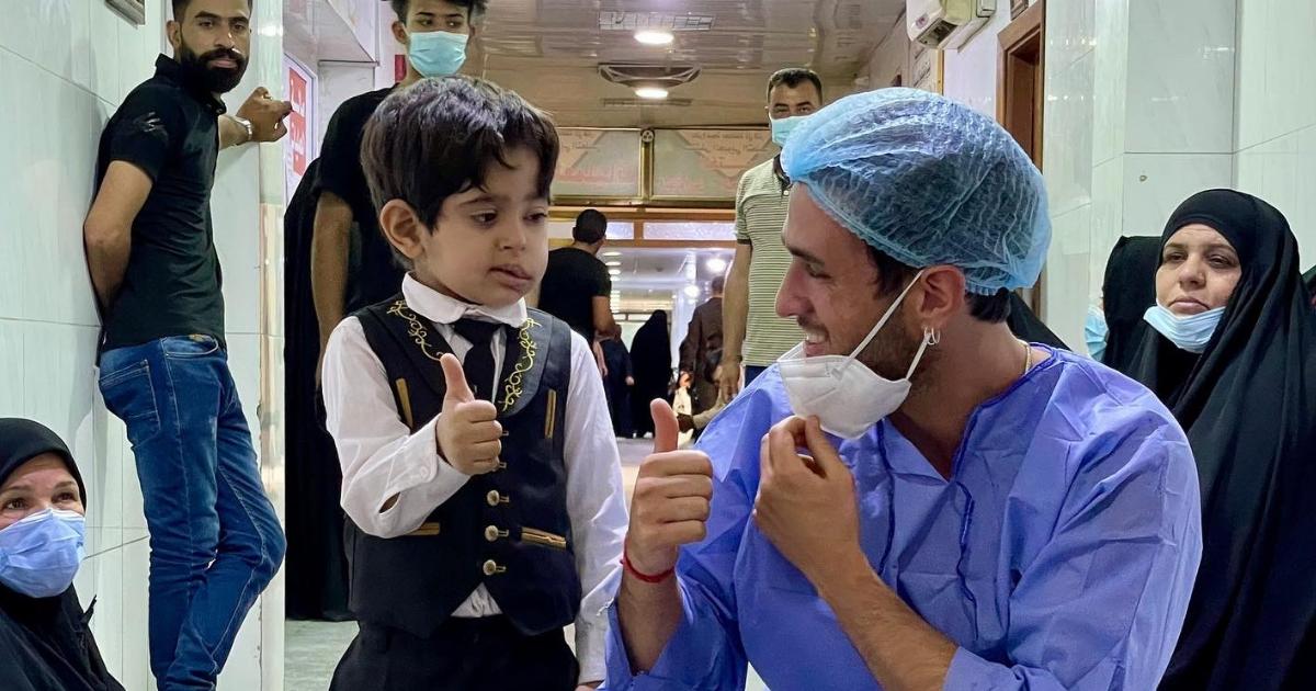 I MEDICI DEL SORRISO TORNANO IN IRAQ-Emergenza Sorrisi
