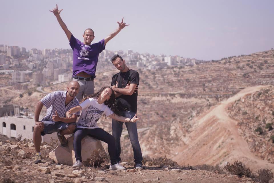 Hip Hop smash the wall-Assopace Palestina