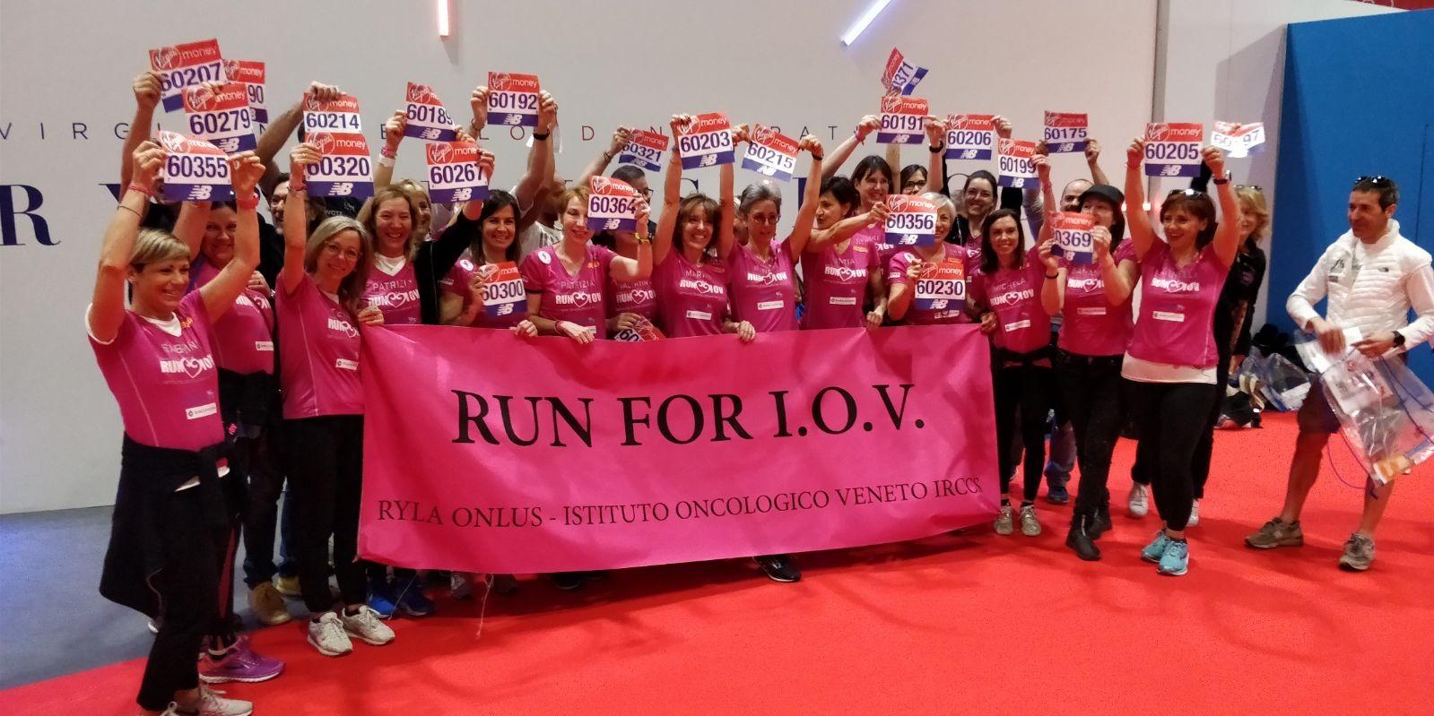 RUN FOR IOV: donne contro tumore al seno-RYLA Onlus