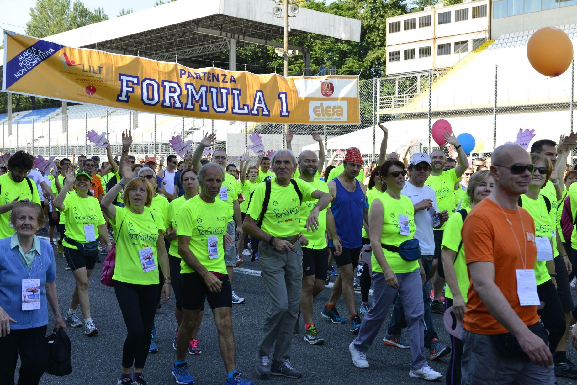 Marcia Formula Uno 2018-LILT Milano