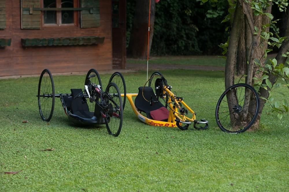 3 Handbike per Obiettivo3-Obiettivo3