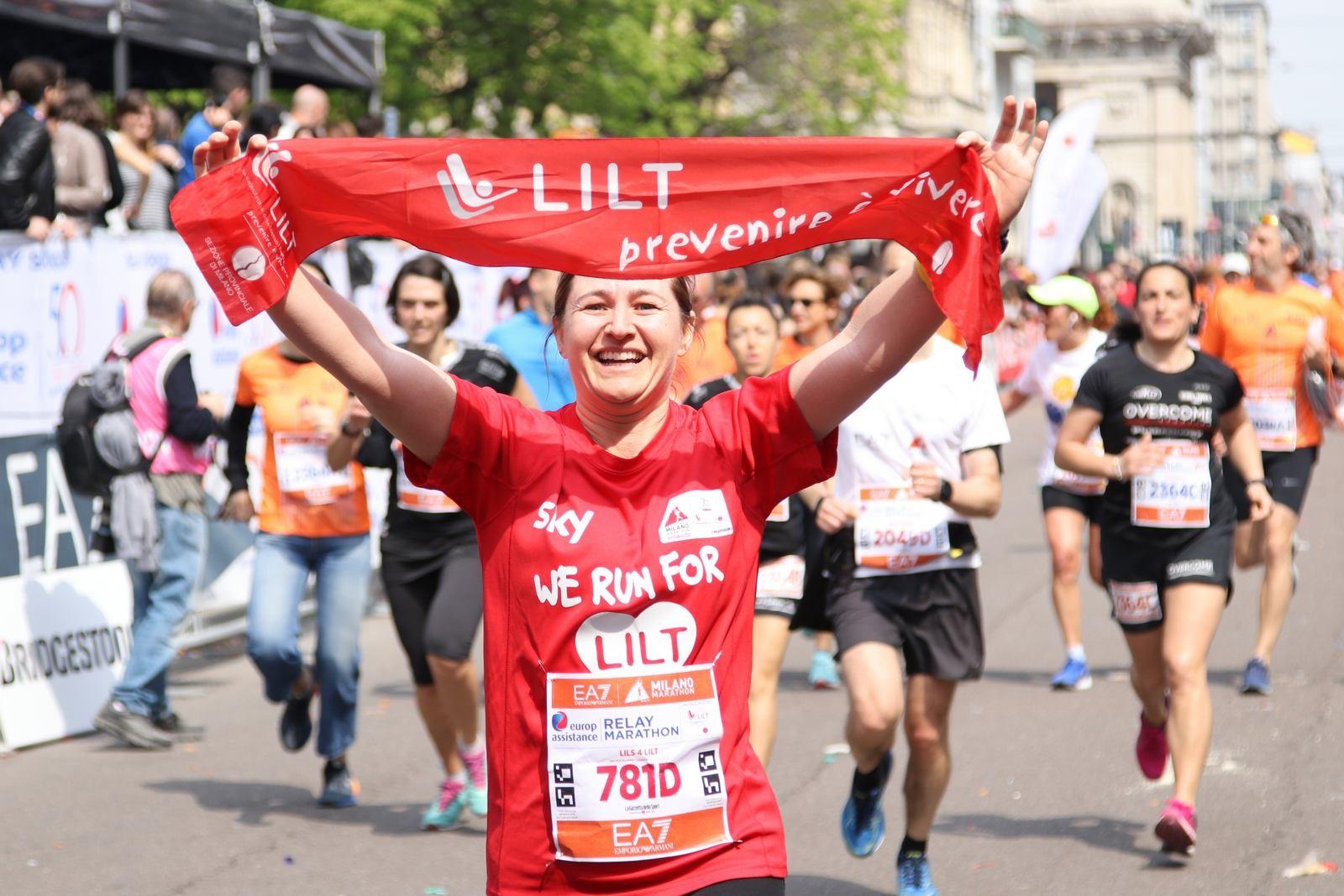 Corri la MM2018 per le case accoglienza!-LILT Milano