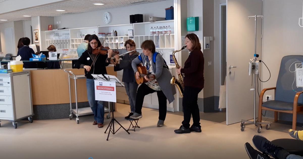 Trasformare il dolore in musica-Policlinico Univ. Campus Bio-Medico