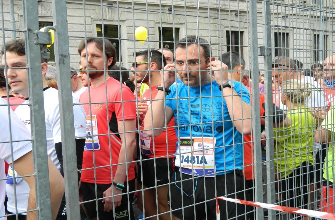 I runner di Dianova pronti a partire