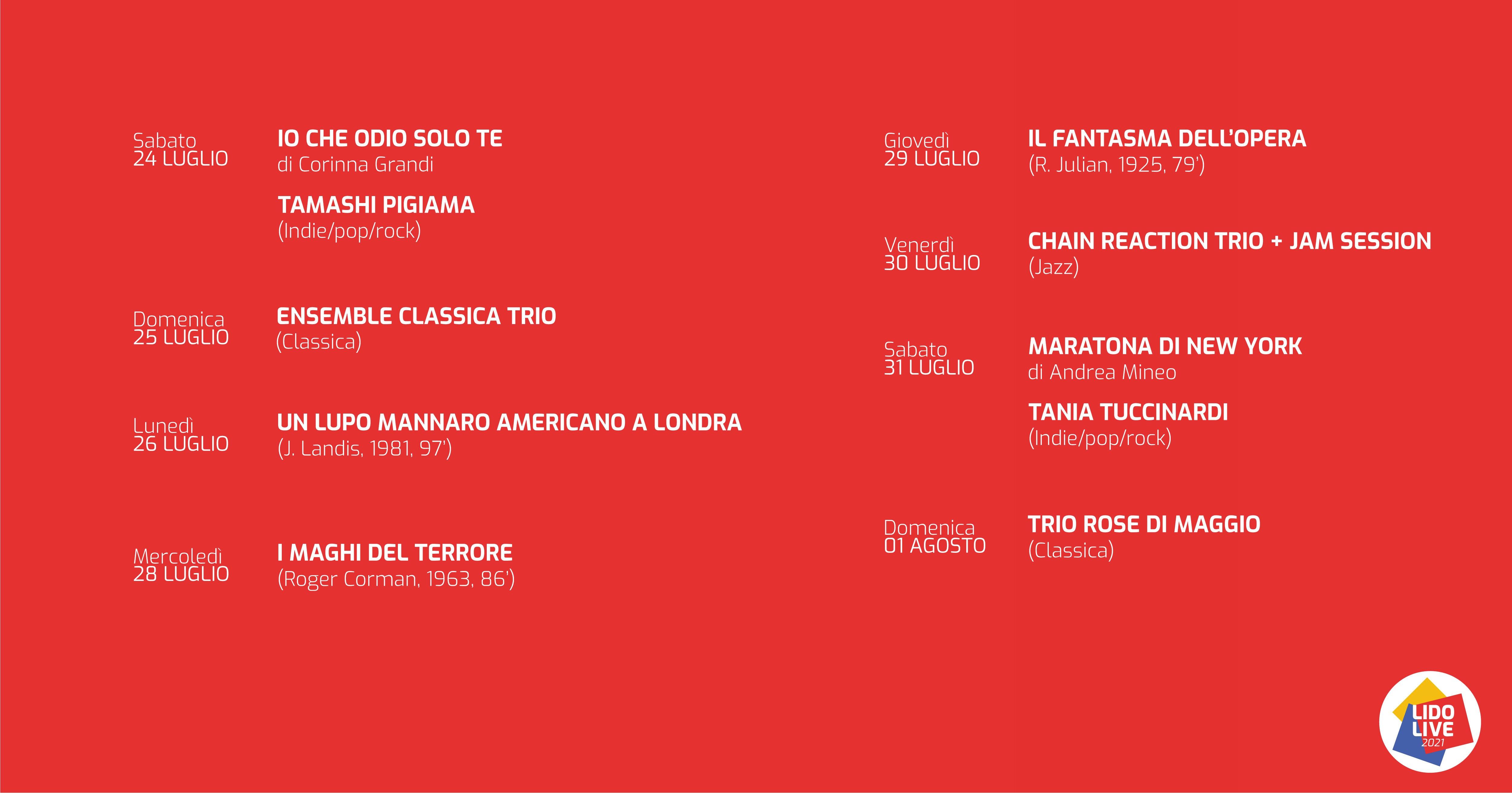 Lido Milano Live 2021-WAU! Milano