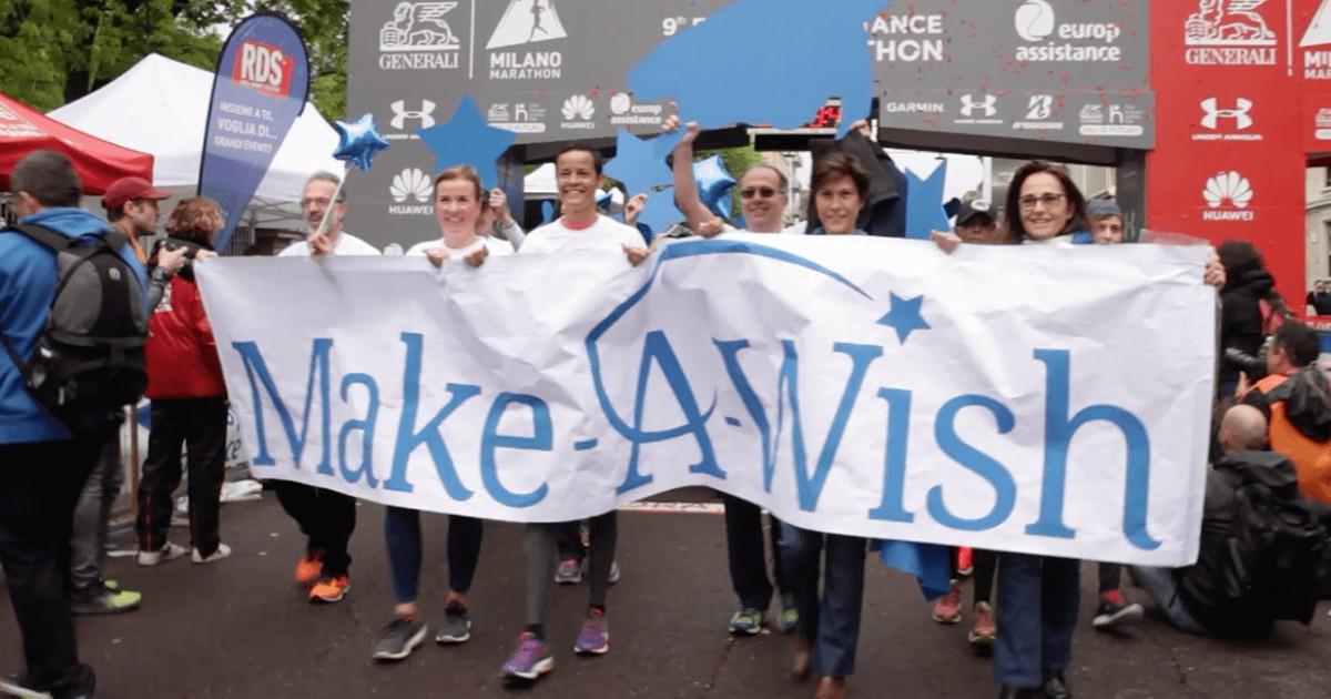 #CorriPerUnSogno - Milano Marathon 2020-Make-A-Wish Italia