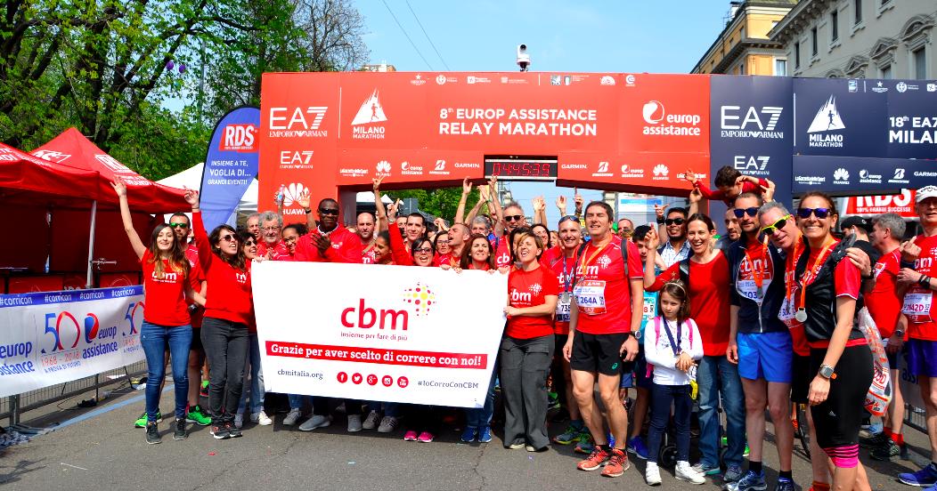 #iocorroconCBM - Milano Marathon 2020-CBM Italia Onlus