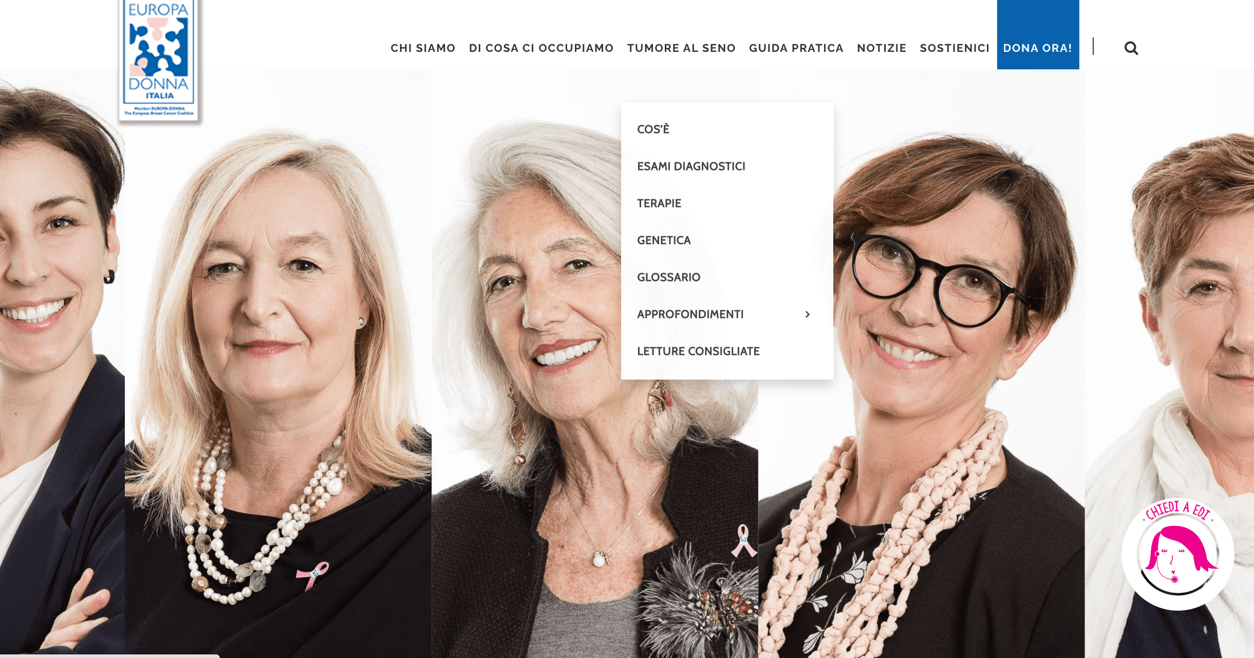 La guida pratica del tumore al seno-Europa Donna Italia