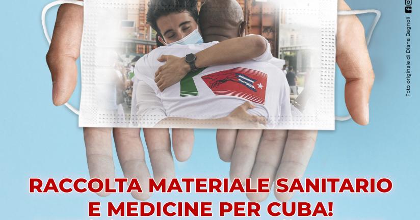 RACCOLTA MEDICINE PER CUBA!-AICEC