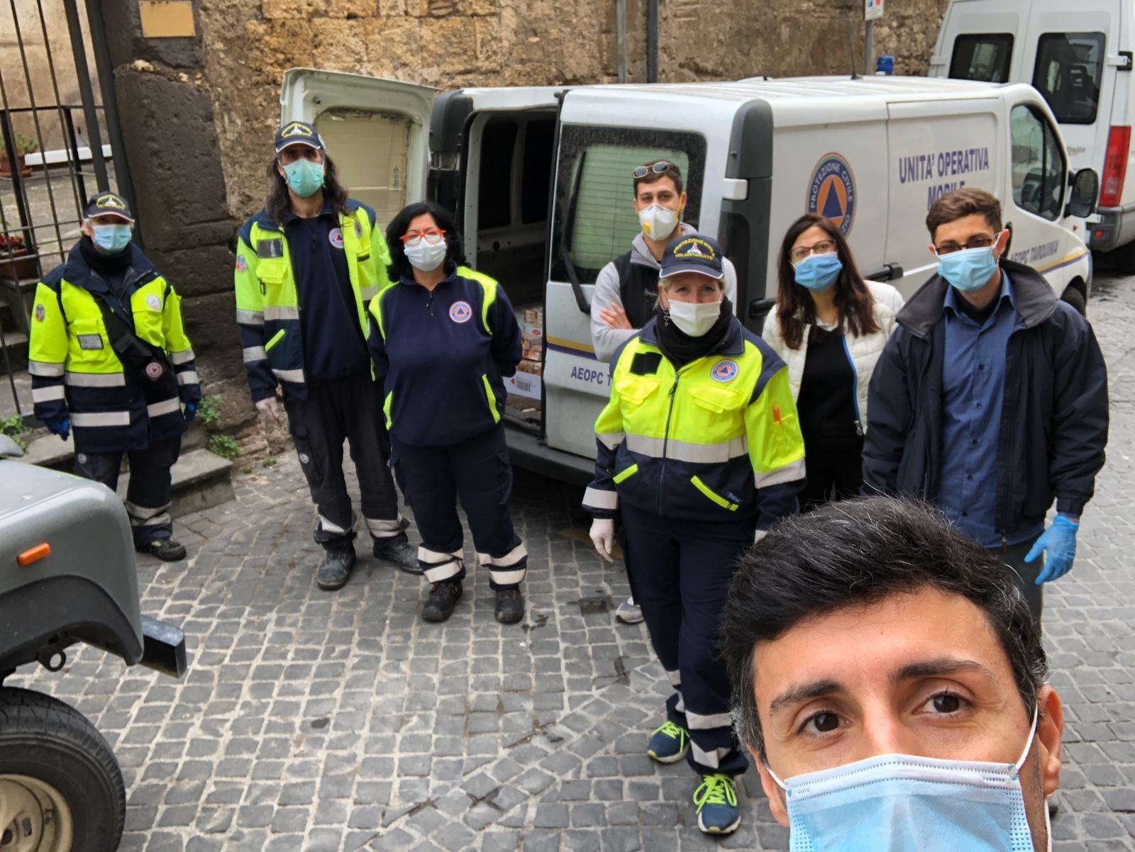 Solidarietà alimentare per Tarquinia-World medical aid