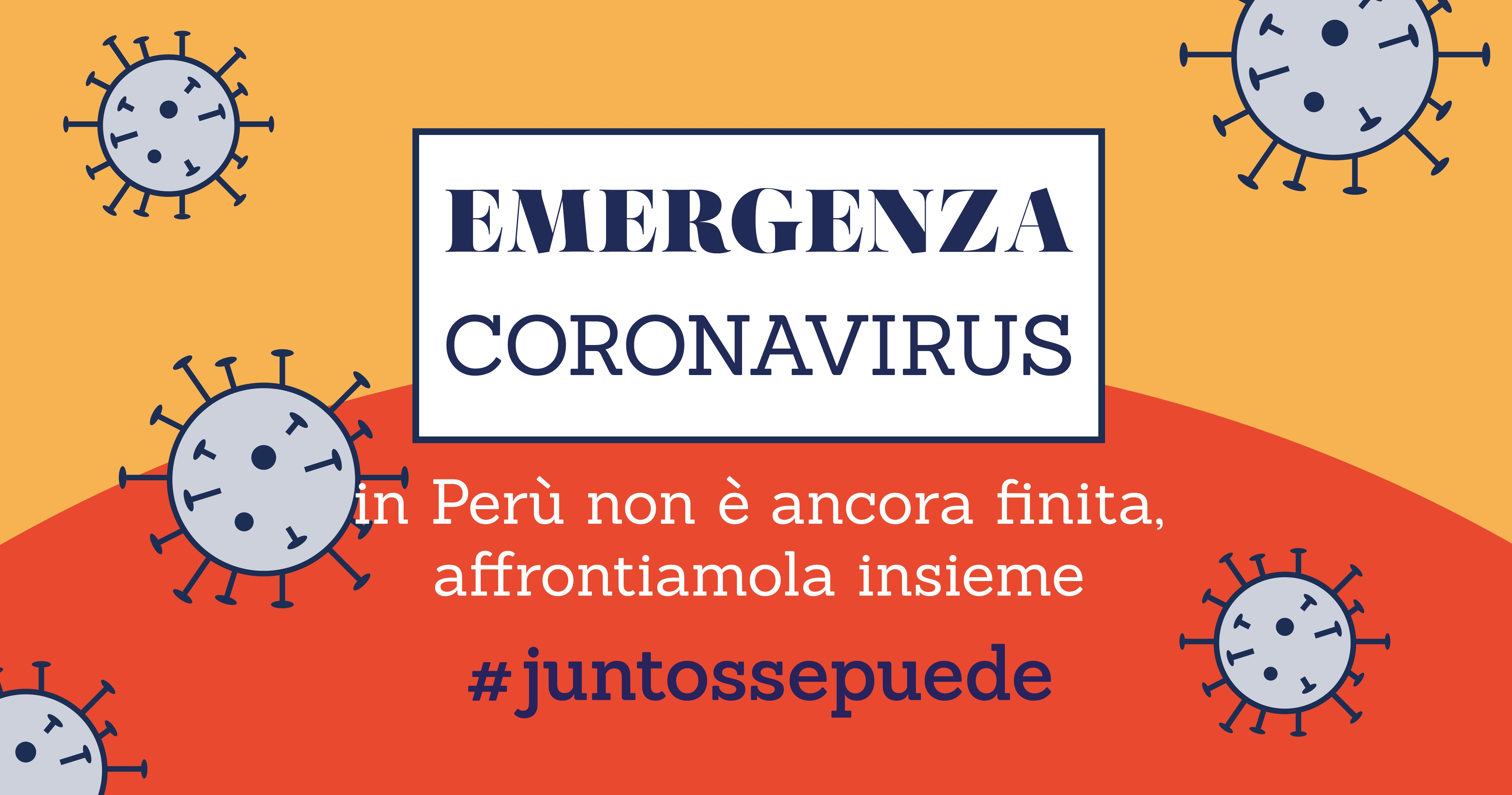 Emergenza: affrontiamola insieme-Compagnia del Perù Onlus