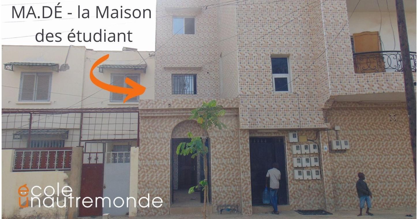 Libri per la Maison des étudiant a Dakar-Fabbrica Utopie