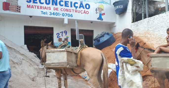 Il campetto nella Favela a Bahia-SIC