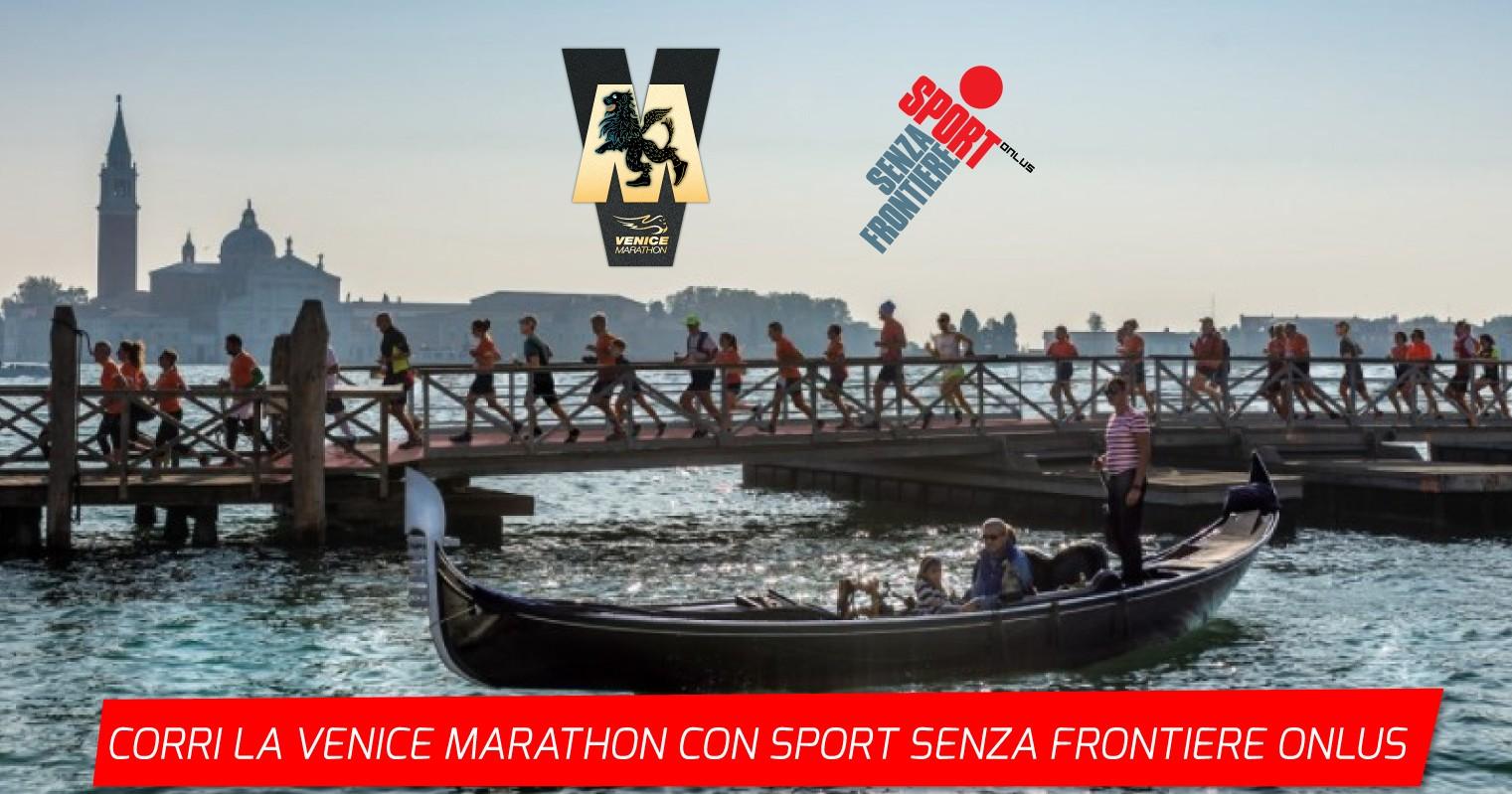 Run For Good Venice Marathon 2021-Sport Senza Frontiere Onlus