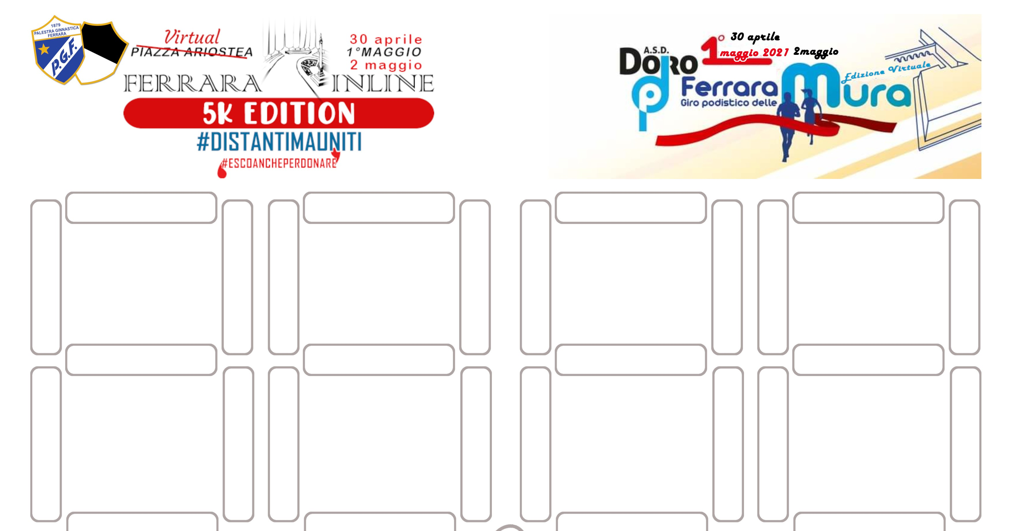 1°maggio Ferrara Inline 2021 5k edition-Palestra Ginnastica Ferrara a.s.d.