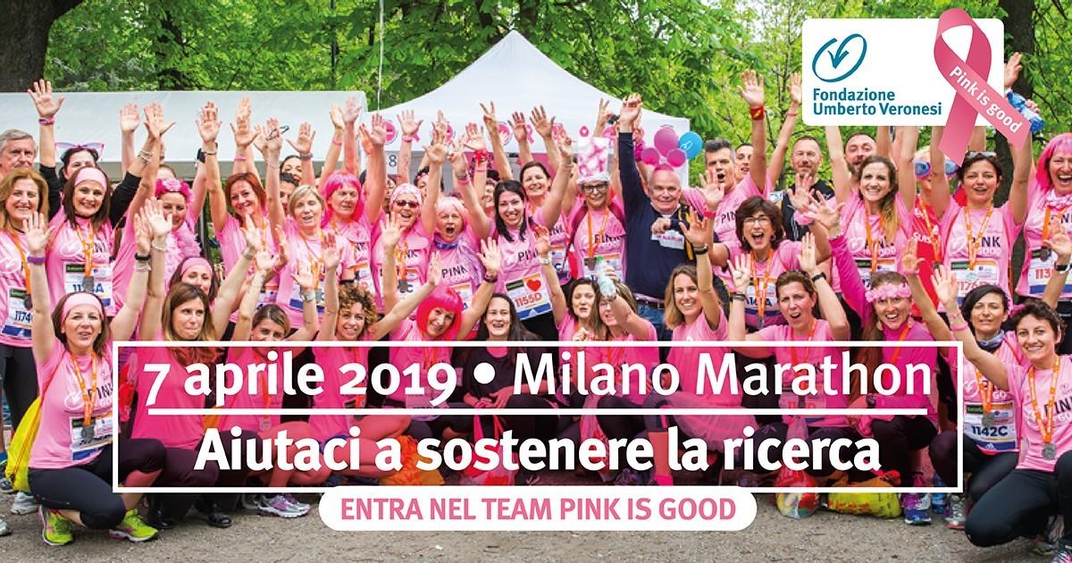 Corri con noi per Pink is Good !!!-Fondazione Umberto Veronesi