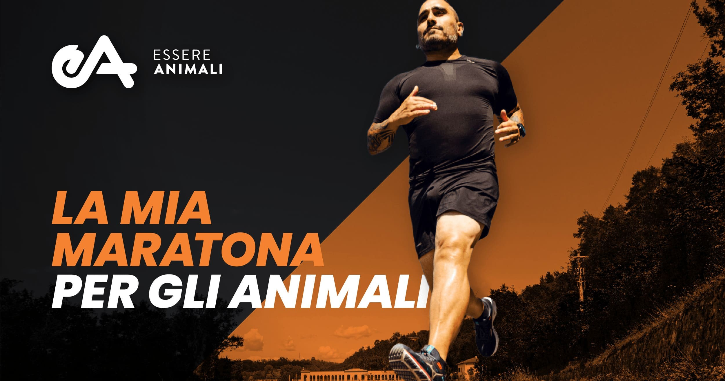 Corro la London Marathon per gli animali-Essere Animali