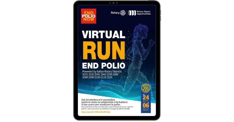 MY 2060 VIRTUAL RUN -Progetto Rotary – Distretto 2060 – ONLUS