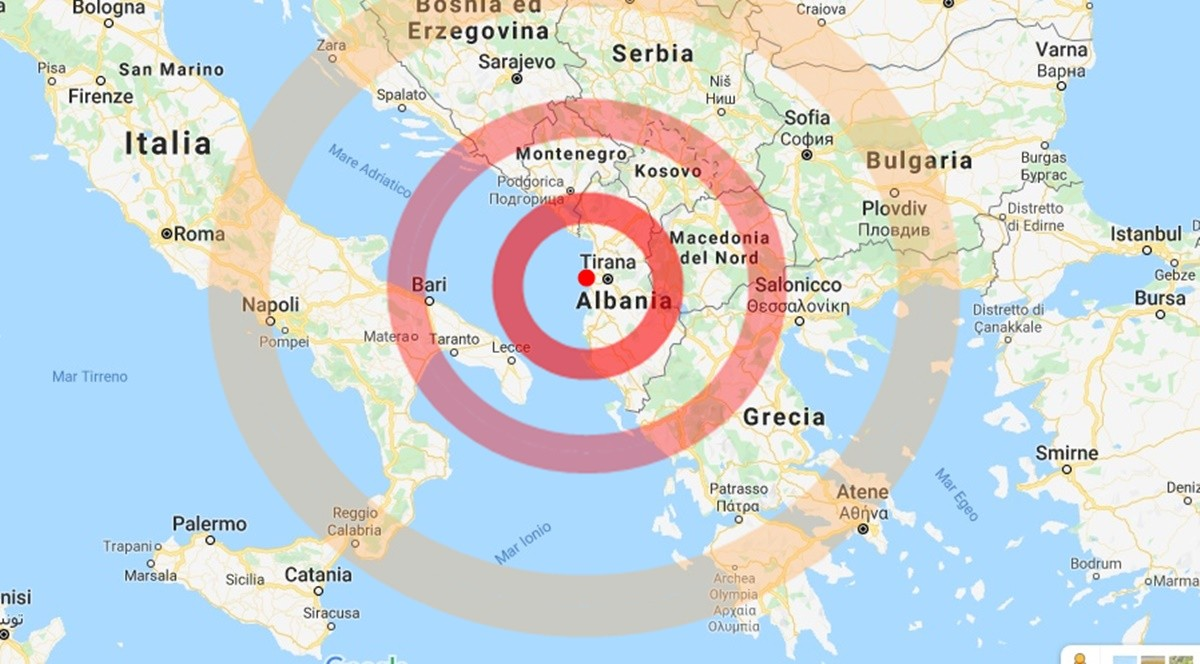 Terremoto in Albania: dona ora-Consulcesi Onlus