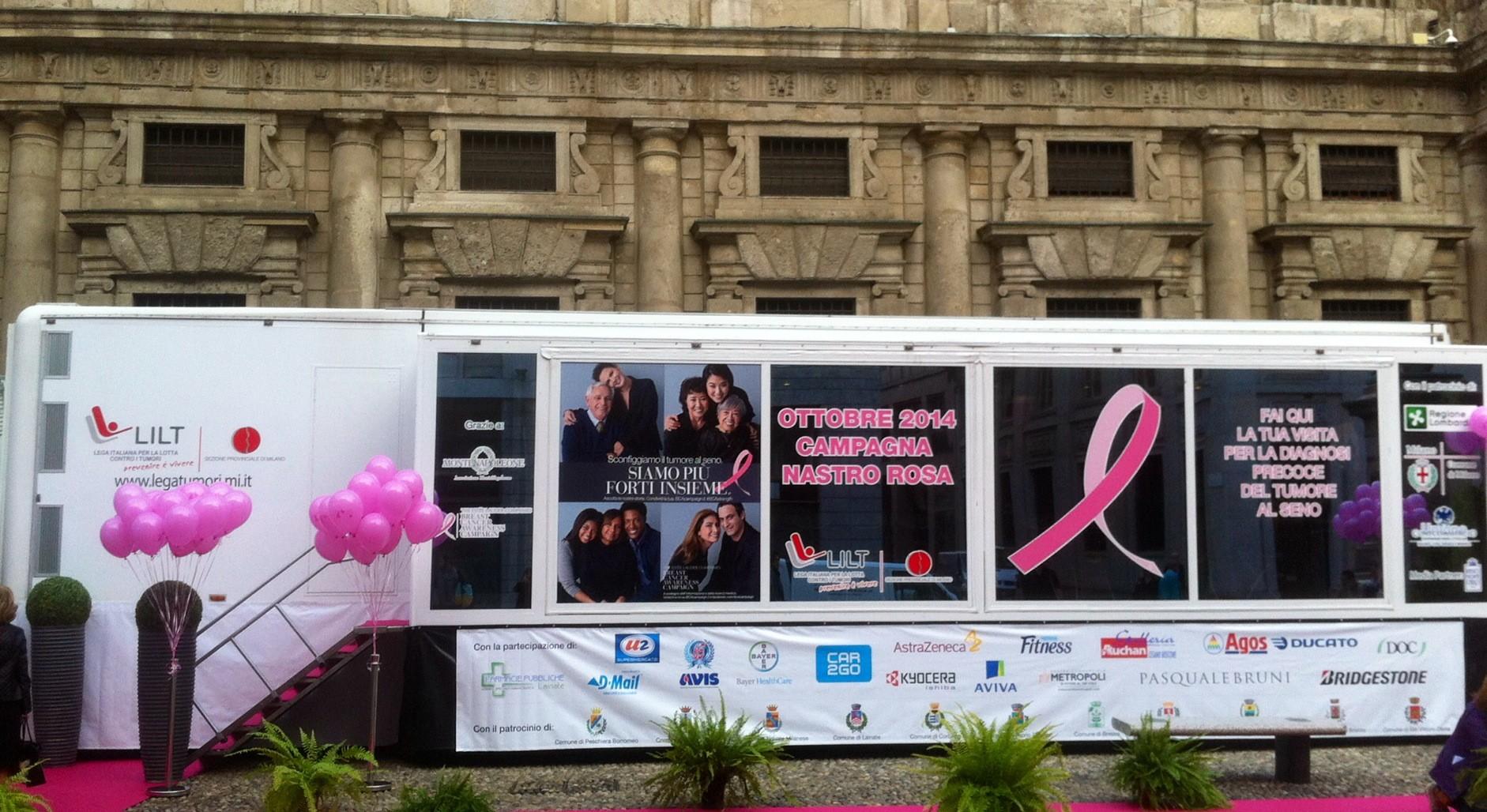 Nastro Rosa 2016: Unite per vincere!-LILT Milano