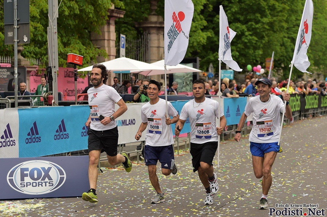 Run For Good Milano Marathon 2017-Sport Senza Frontiere Onlus