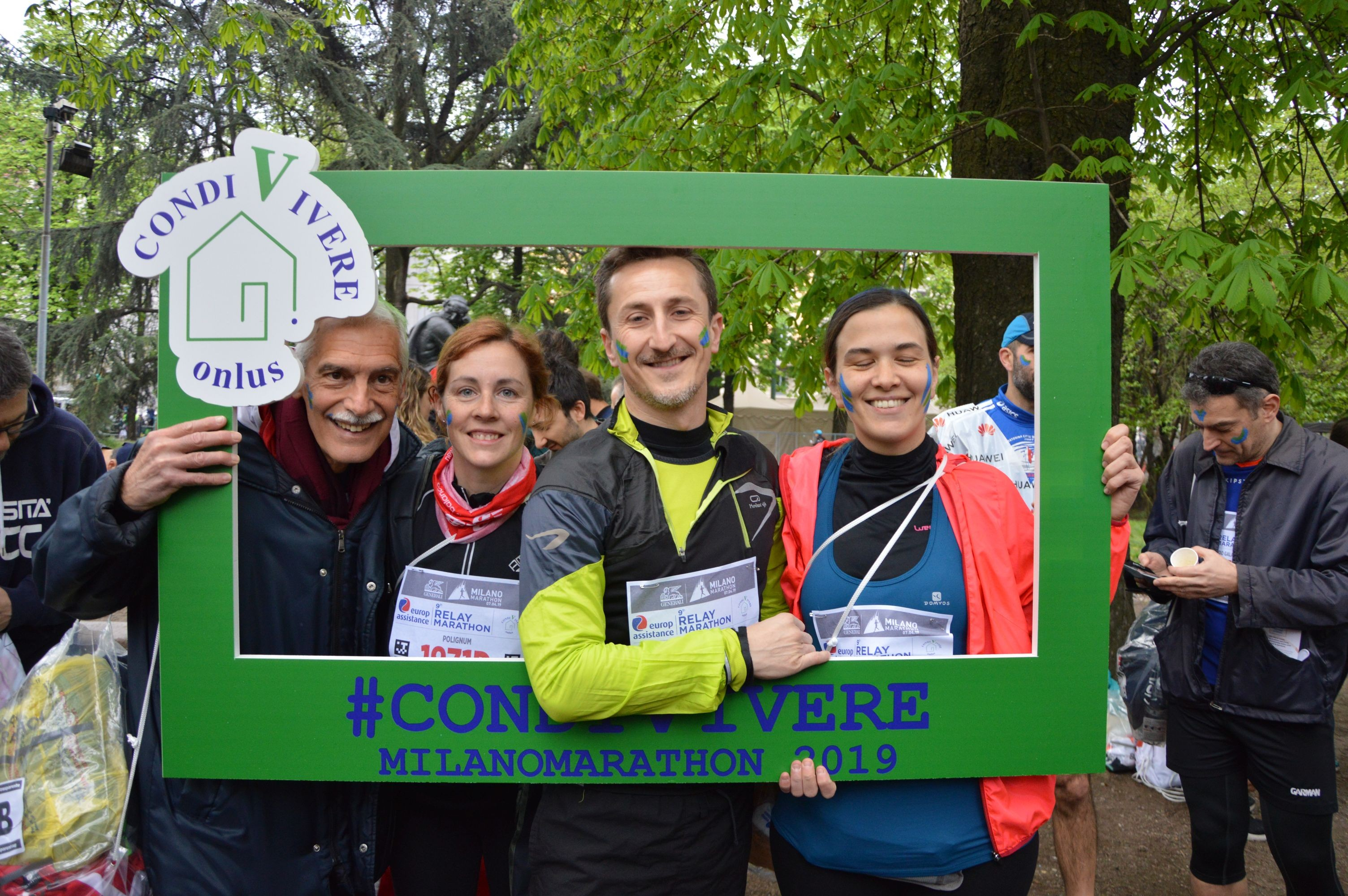 CONDIVIVERE LA MILANO MARATHON 2020-Fondazione CondiVivere