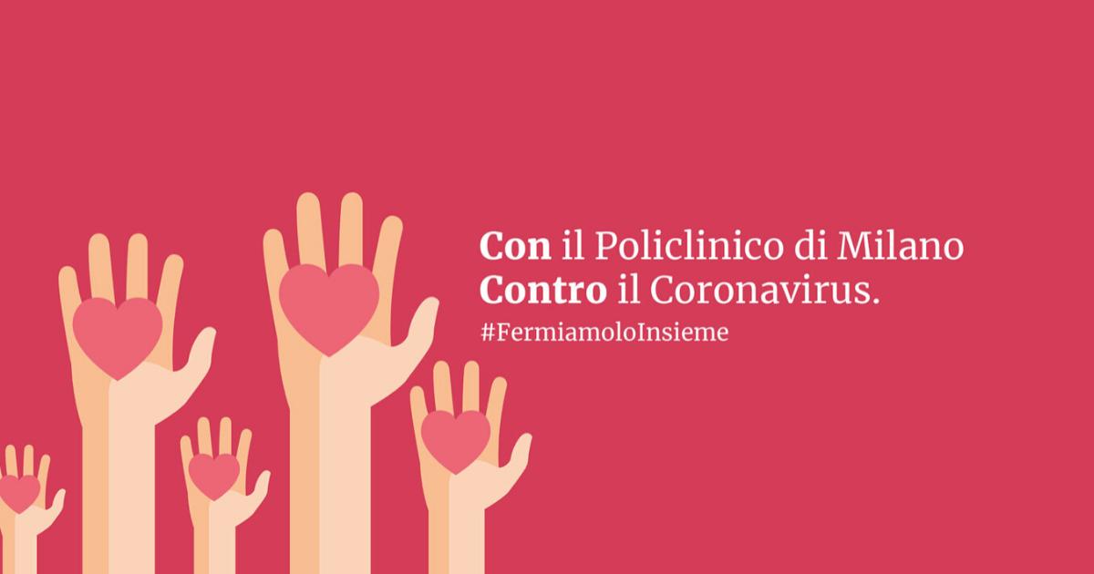 #fermiamoloinsieme Policlinico Milano-Policlinico di Milano