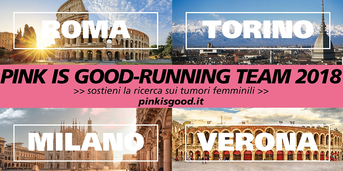 Pink is Good - Running Team -Fondazione Umberto Veronesi
