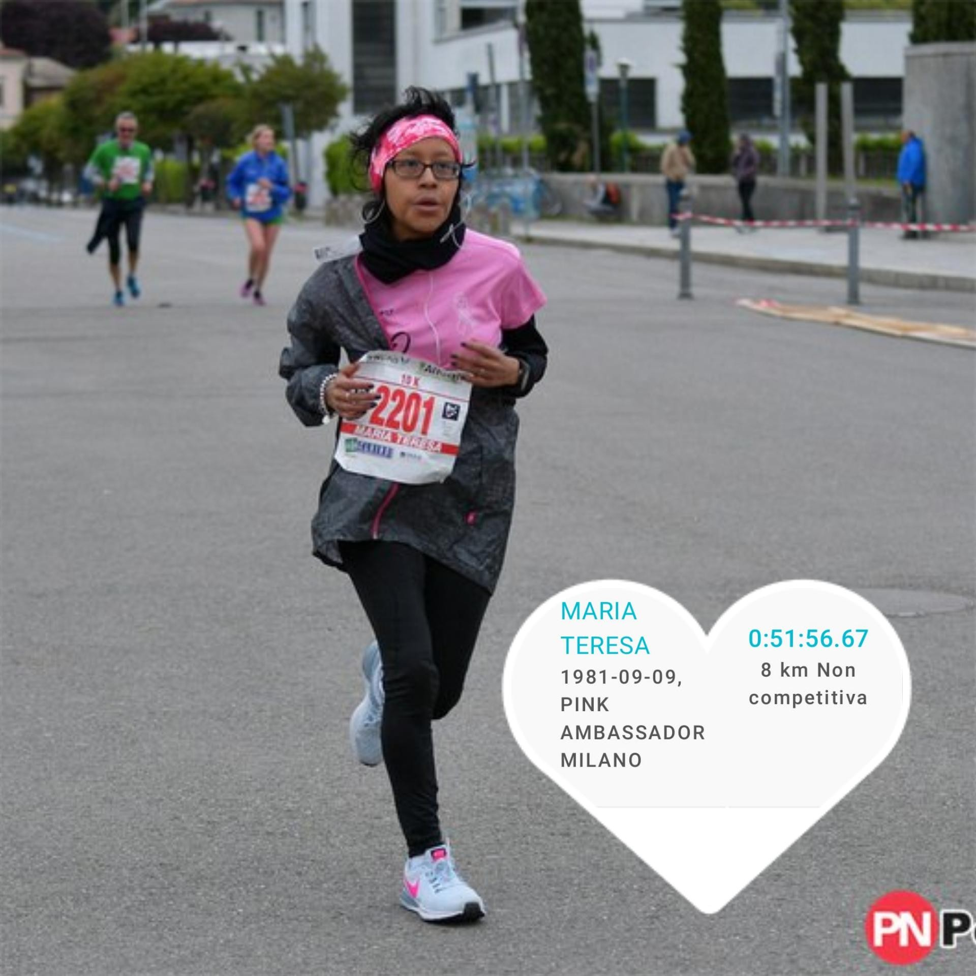 Rete del Dono - M@ry in Pink - in corsa per la Ricerca
