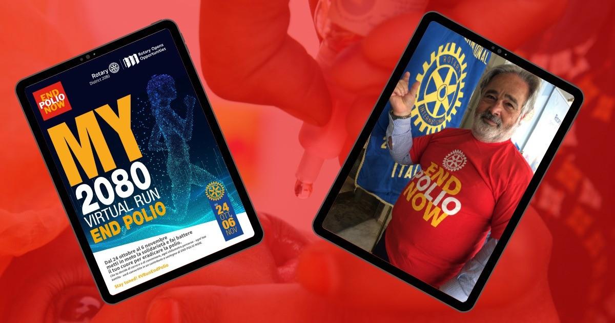 Giovambattista Run for End Polio Now-Giovambattista Mollicone
