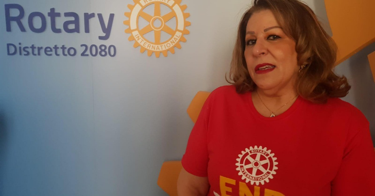 Carla  per Rotary Roma Leonardo da Vinci-Carla Trippetti