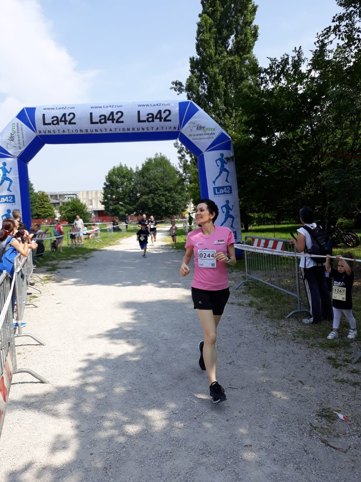 Rete del Dono - Pink is Good - Running Team